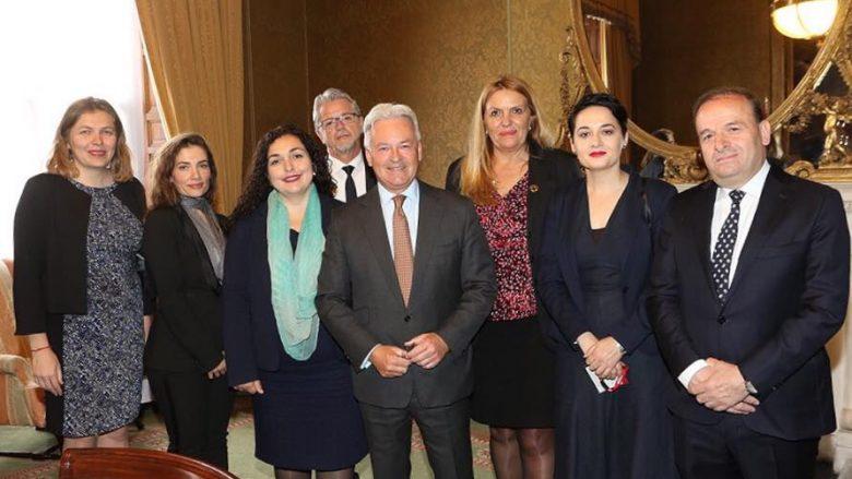 Osmani  Përkrahja britanike është tejet e rëndësishme për sovranitetin e Kosovës