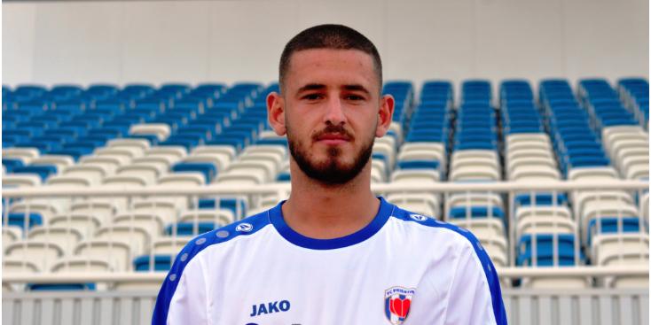 Prishtina nënshkruan me talentin gjakovar