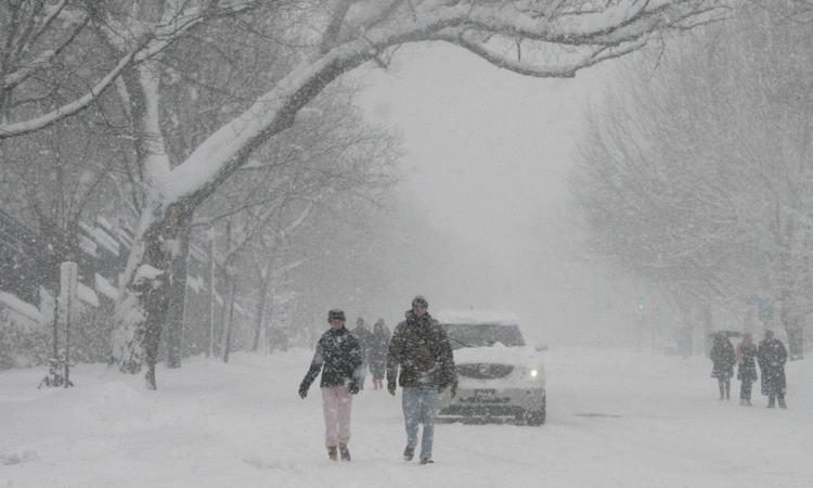 Fundjava në Kosovë me reshje bore
