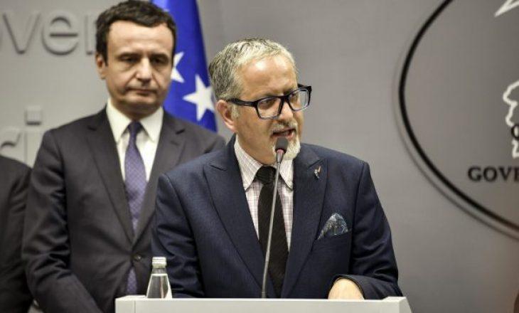 Qeveria autorizon ministrin e Shëndetësisë që të nxjerrë vendime për pandeminë