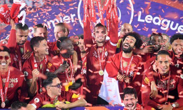 Viti i Liverpoolit në Angli