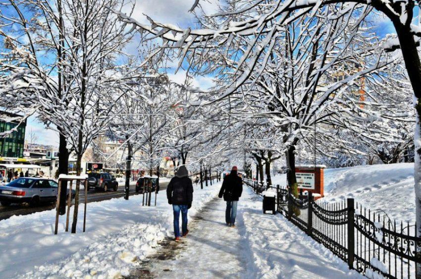 Ndryshim moti në Kosovë priten dhe reshje bore