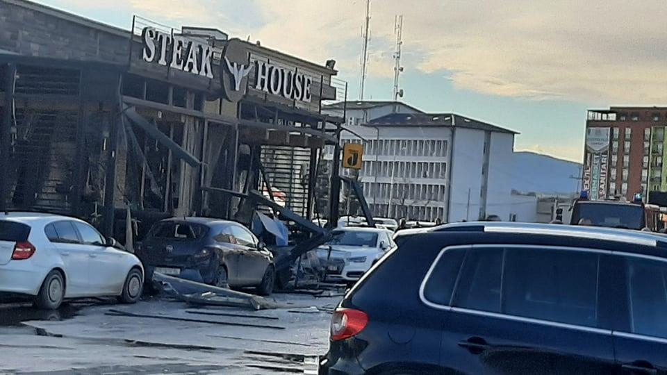 shperthim - Pamje të tmerrshme nga shpërthimi i bombolës së gazit në Ferizaj